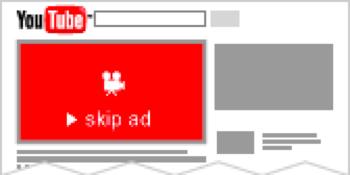 可跳过youtube广告