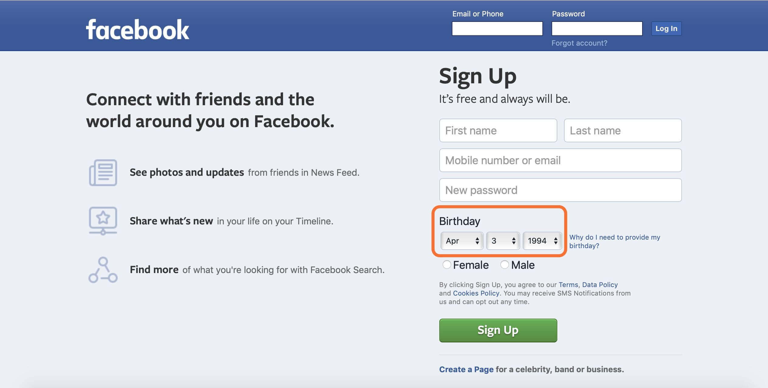 sign-up-facebook-account