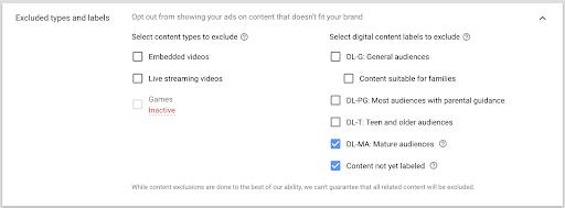 youtube广告限制