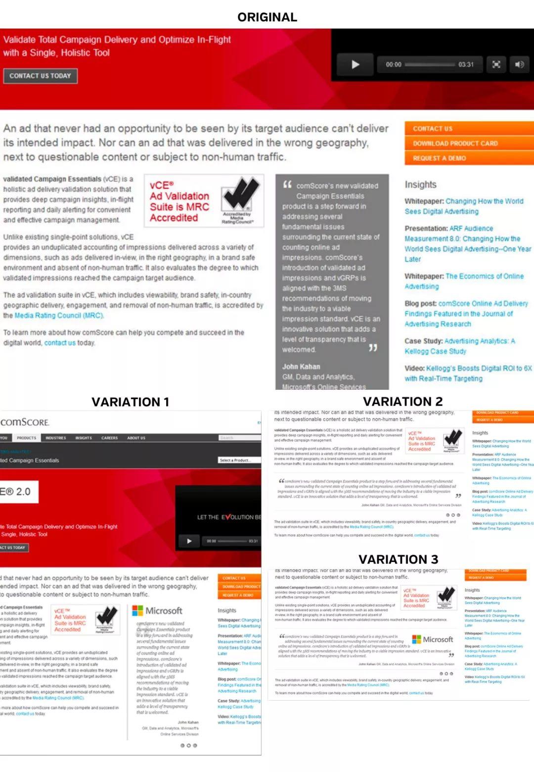 ab测试网页