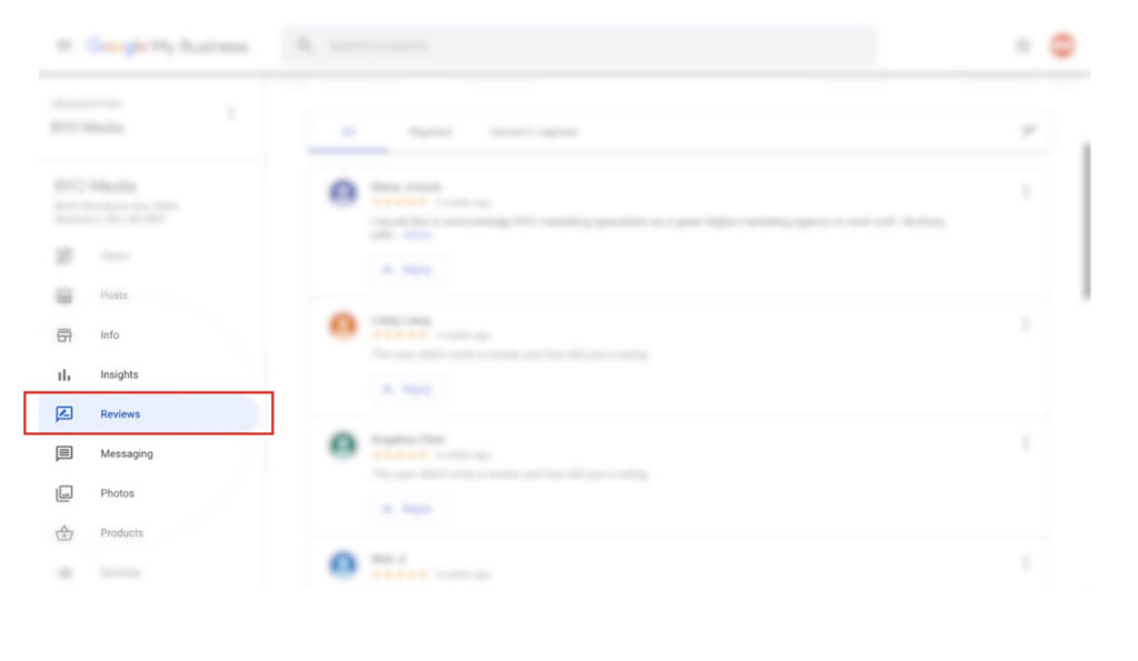 google my business-review